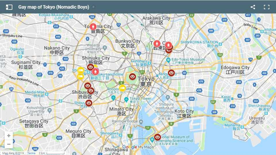 All the best gay hotels, bars, restaurants and things to do in Tokyo, Japan.