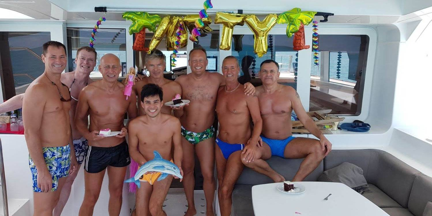 Acquaintances become fast friends on GaySail's cruise through the waters of Montenegro!