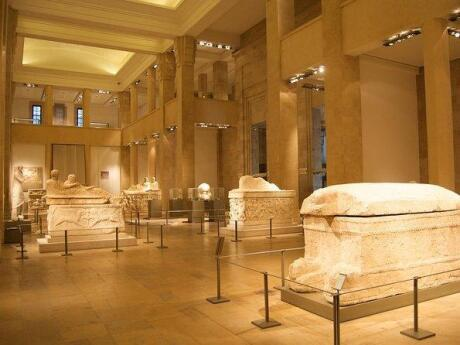 Learn about Lebanon's history while viewing archaeological artefacts in the National Museum of Beirut
