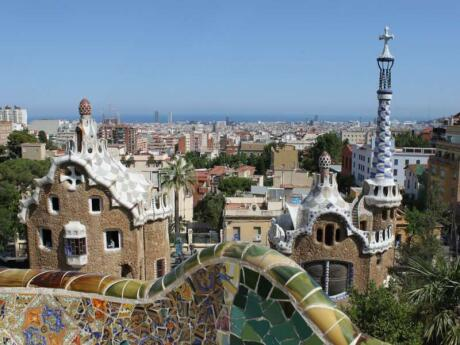 Barcelona's Par Guell is an interesting place to explore or just relax