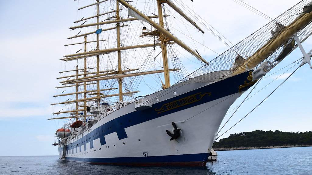 Feel like a pirate or a sailor on board Brand G's exclusive LGBT charter of the historic Royal Clipper sailing ship