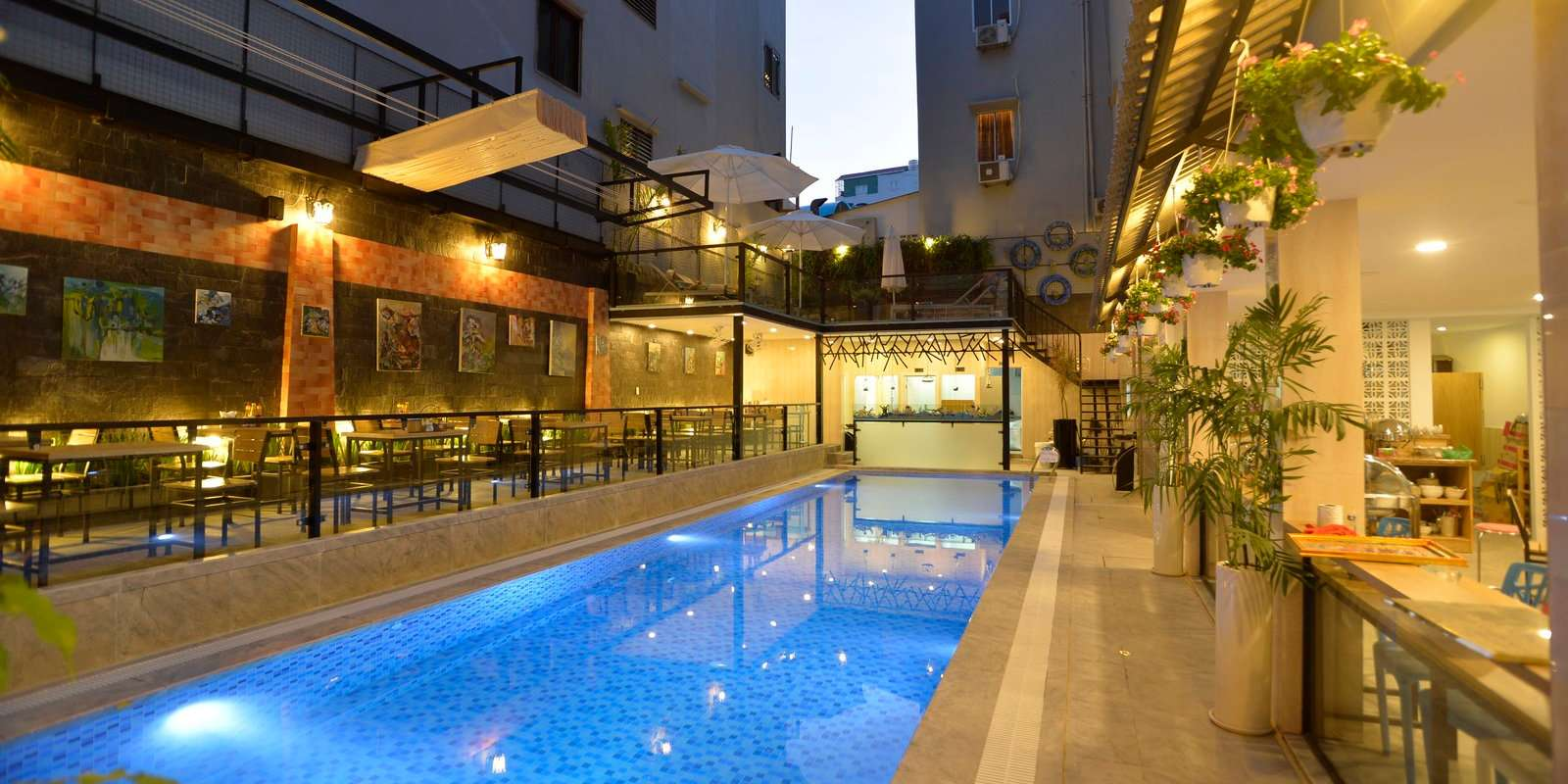 The Beautiful Saigon Boutique Hotel is a lovely mid range hotel that is very welcoming to LGBT guests