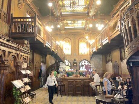Caru cu bere restaurant is an incredible restaurant and brewery in Bucharest that you will love