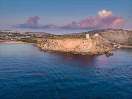 For incredible views in Malta, we loved the Dingli Cliffs, especially at sunset