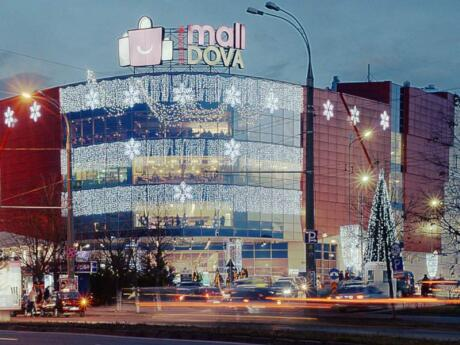"Chisinau's main shopping mall, aptly named ""MallDova"", is a fun place for some retail therapy"
