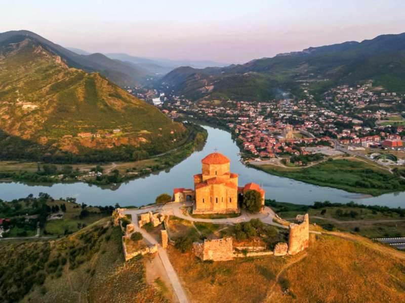 Mtskheta is the oldest city in Georgia and easily accessible from the capital of Tbilisi