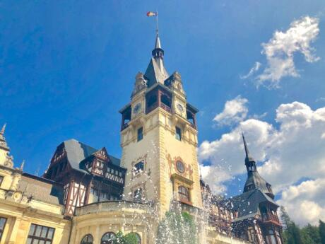 Peles Castle is another one of Romania's most beautiful and famous castles