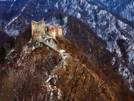 If you're interested in the Dracula myth, then a visit to Vlad the Impaler's actual castle is a must do when you're in Romania