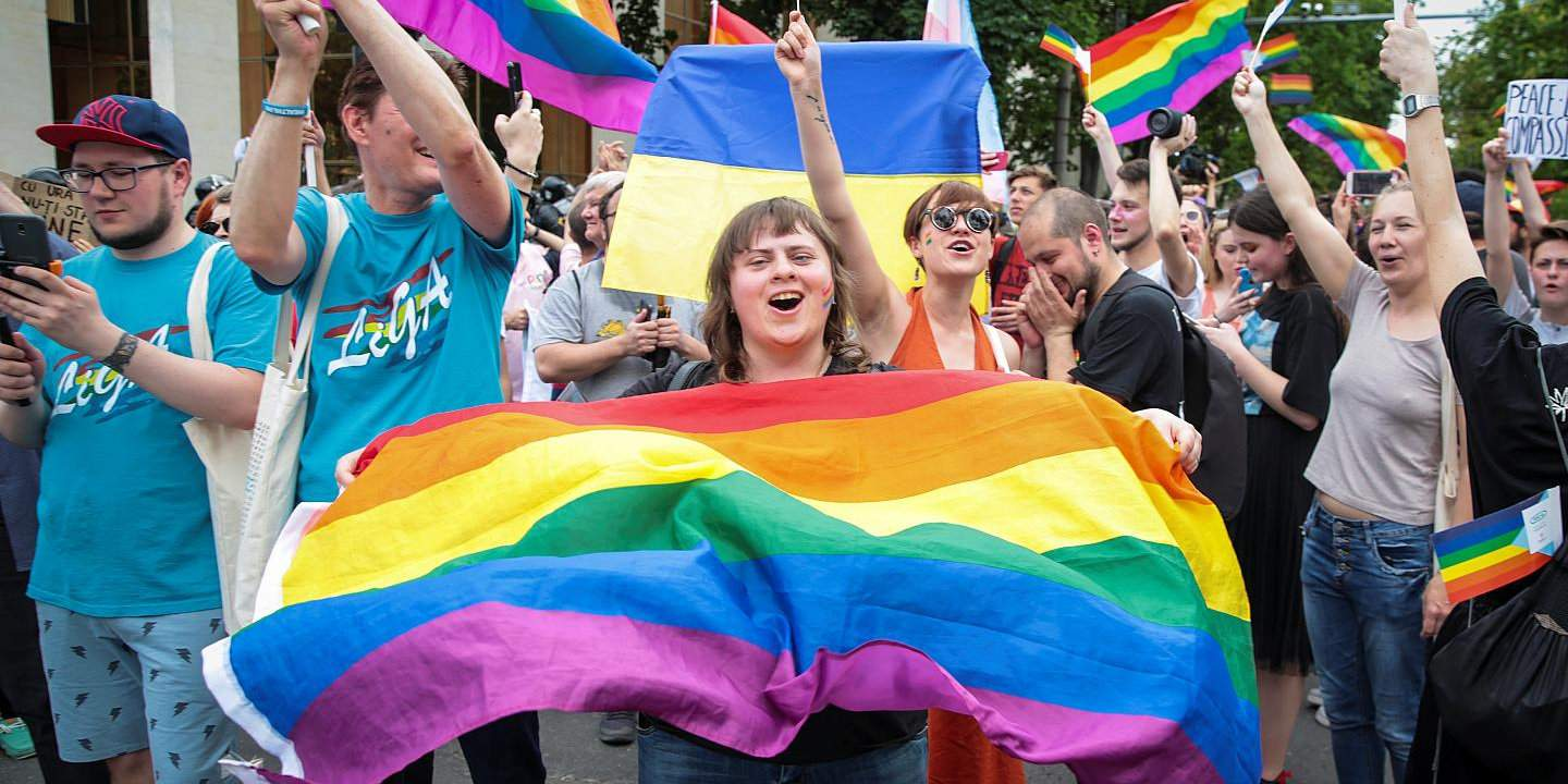 Chisinau holds a gay pride parade even in the face of opposition from religious groups