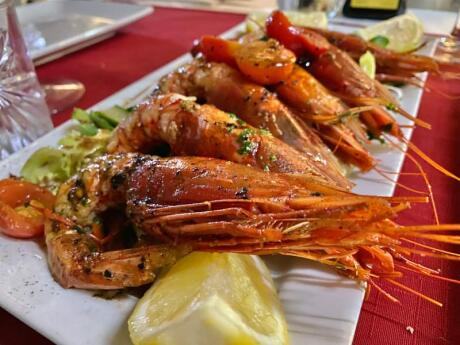 For some of the best fresh seafood in Malta, we love La Sfoglia Restaurant in Valletta