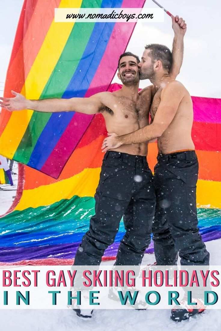 If you're gay and you like skiing or snowboarding, you'll definitely want to check out these awesome gay skiing holidays around the world