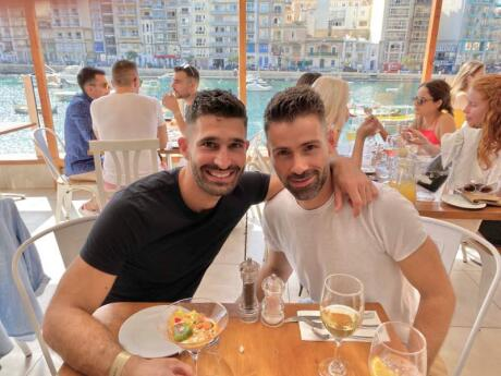 Two Buoys is a lovely Australian inspired restaurant that often hosts the gay Brunch Bunch events in Malta