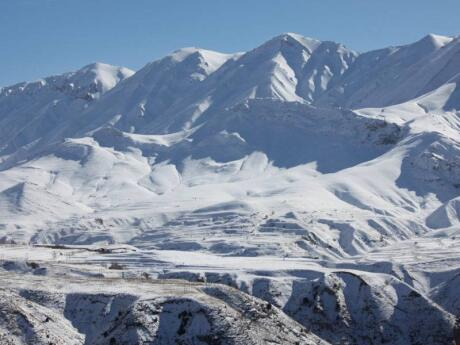 Gay travel to Iran - you might be surprised to know you can ski in Iran on the Alborz Mountains!