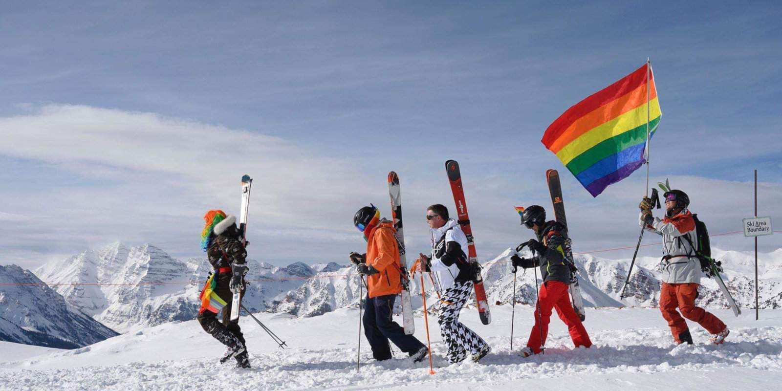 Aspen's Gay Ski Week is packed full of over the top fun for gay fans of snow, parties, comedy, ice skating and costumes!
