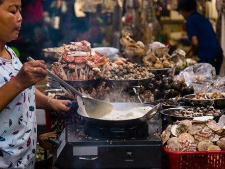 Join a street food tour or head to the Ben Thanh markets to taste the best local food in Saigon