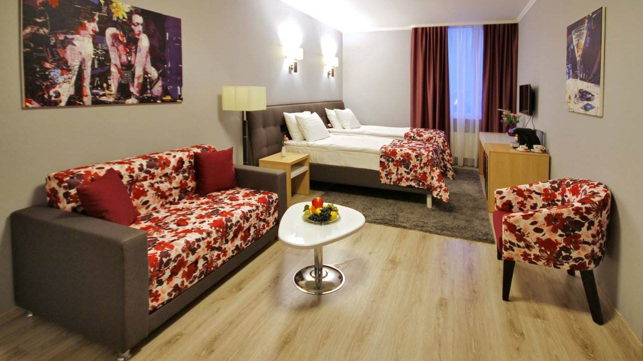 City Park Hotel is an excellent mid-range hotel in Chisinau, cosy and welcoming to gay travellers