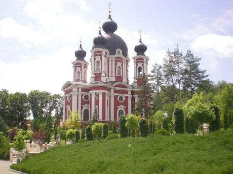 Another beautiful monastery in Moldova that's worth a visit is the beautiful Baroque style Curchi Monastery