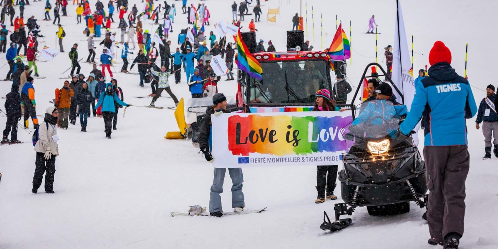 For a gay Pride parade on the ski slopes, plus lots of epic parties, don't miss the European Snow Pride event