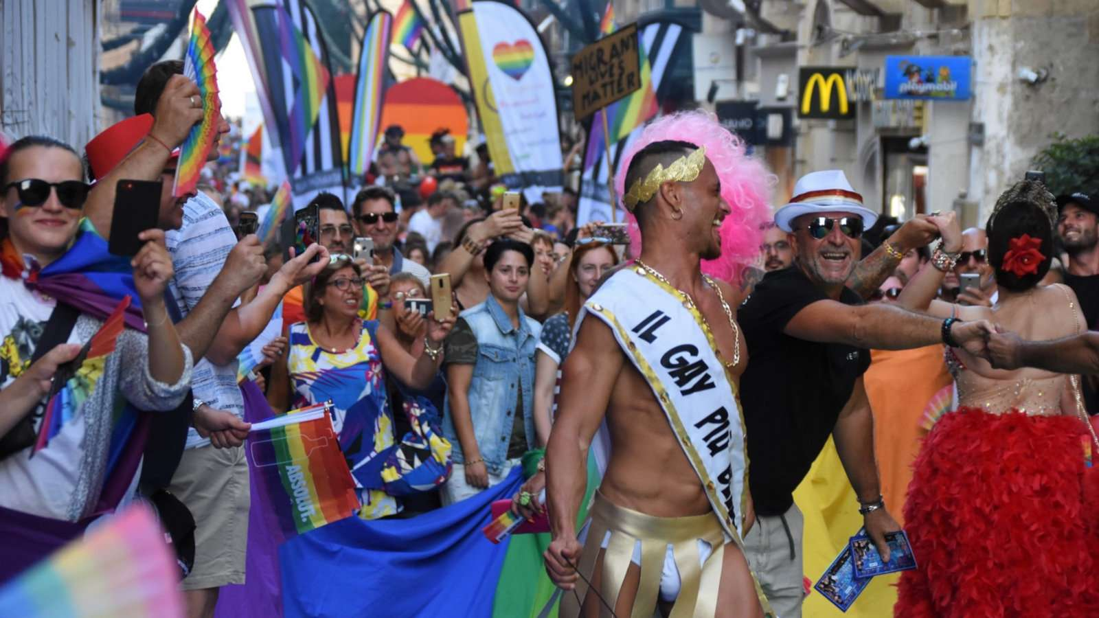 If you travel to Malta in September you can experience the week-long gay pride festivities!