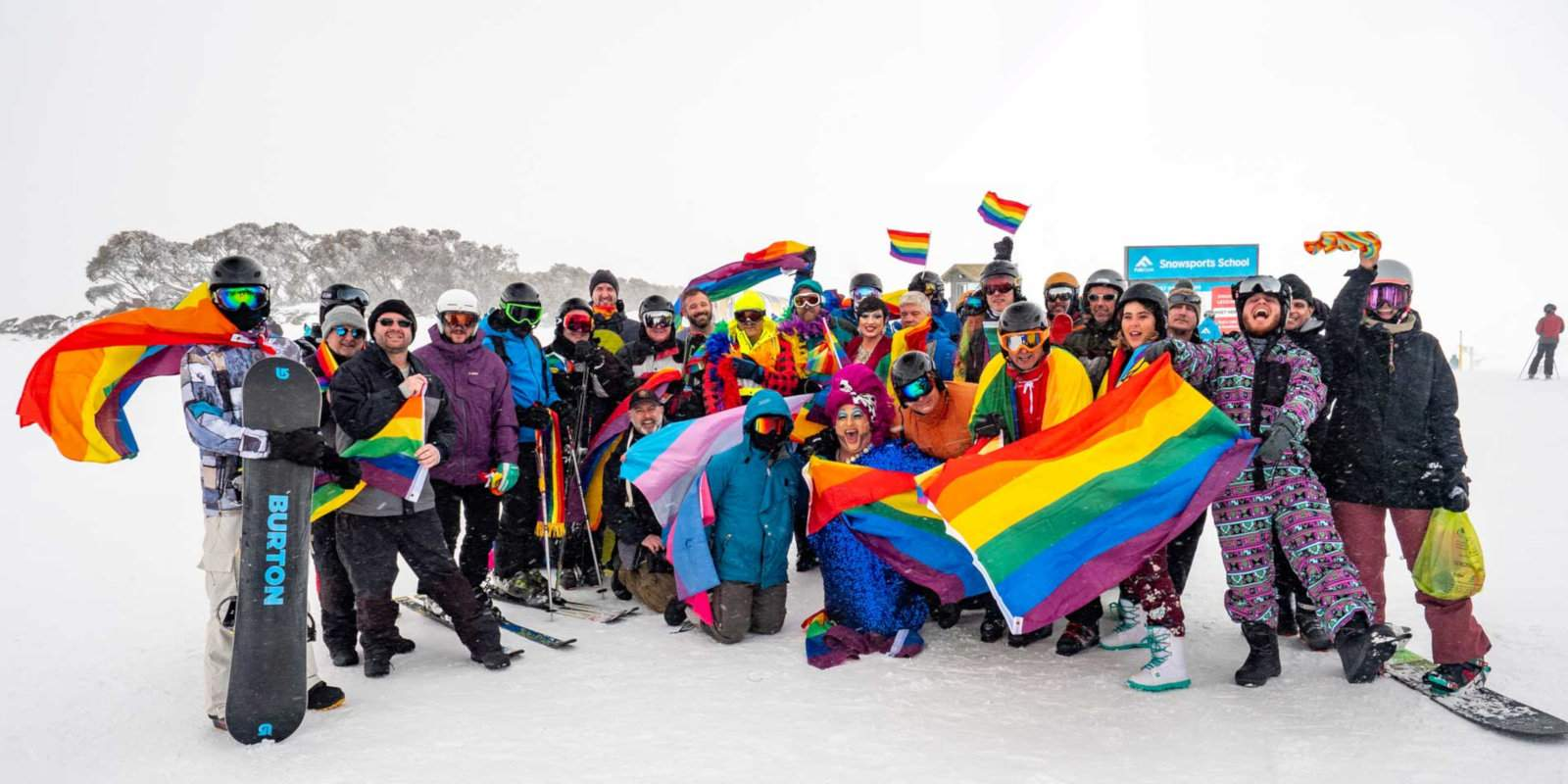 Australia's gay ski week is an awesome mix of snow and partying at Falls Creek in Victoria