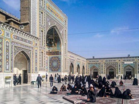 Gay Iran - make sure you visit the biggest mosque in the world, the holy shrine of Imam Reza