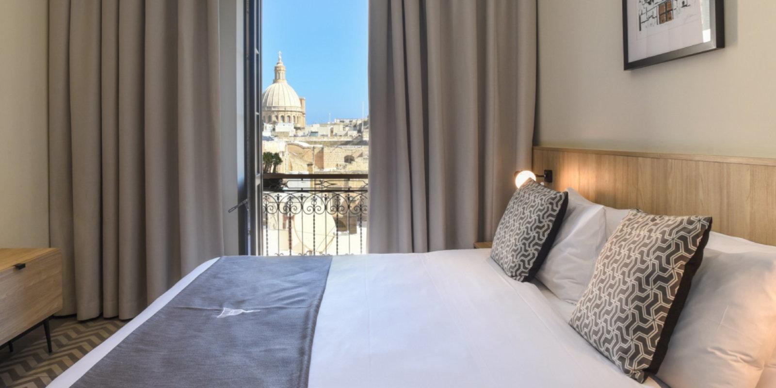 La Falconeria is a beautiful and affordable hotel in the centre of Valletta that gay travellers to Malta will love