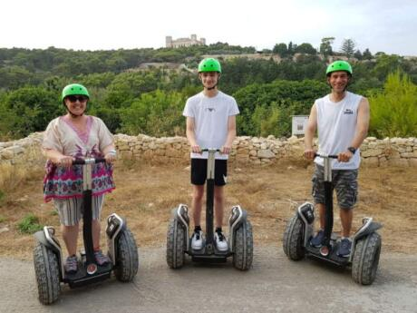 Exploring Malta by Segway is a fun way to discover the island