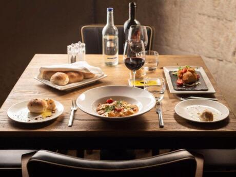 Valletta's Rampila Restaurant is located next to the city gates and serves exquisite food