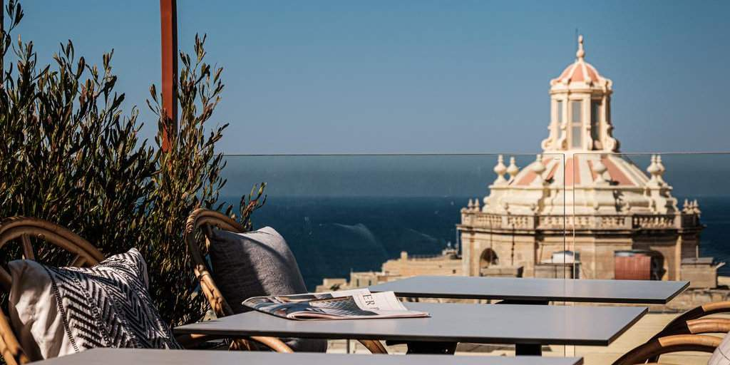 The Rosselli Hotel in Malta has beautiful views over Valletta and is very gay friendly