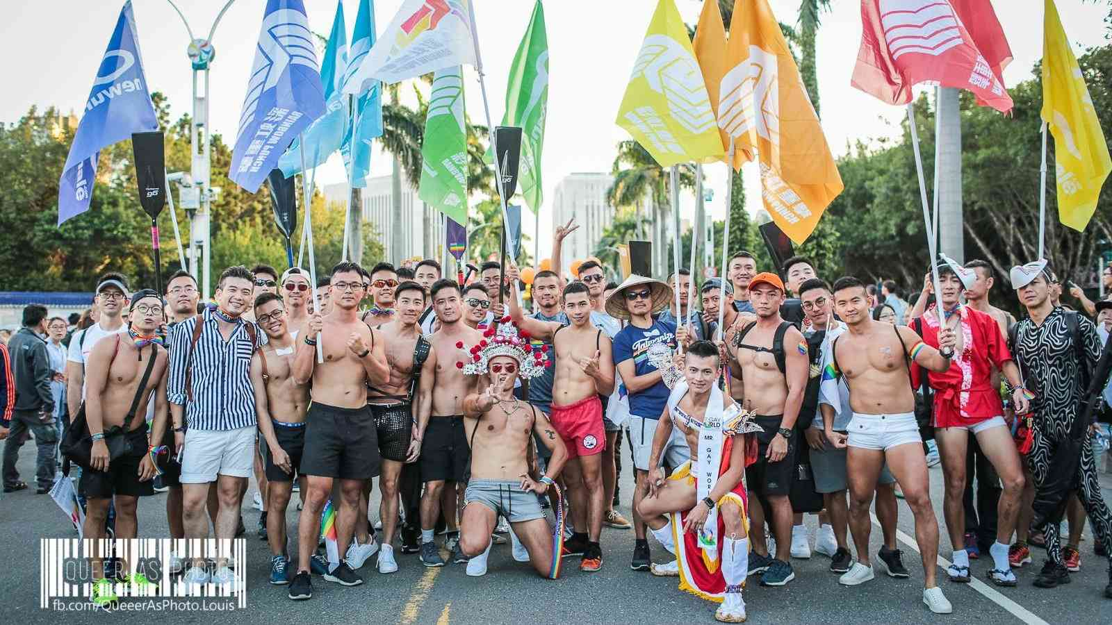Taipei one of most gay cities in the world