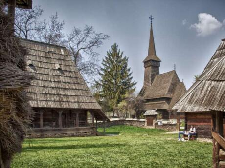 Get a taste of traditional Romanian life in the heart of Bucharest at the Village Museum
