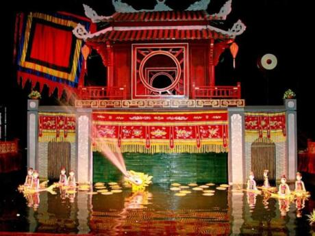 Water puppetry is an ancient Vietnamese tradition and a highlight of our trip to Saigon