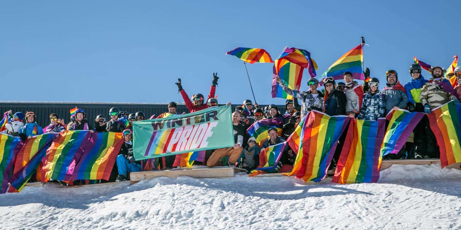 Queenstown in New Zealand is the adventure tourism capital of the world and also home to a fantastic winter pride gay skiing week