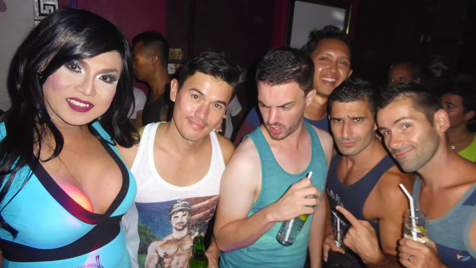 Partying at the gay Bali bars and clubs