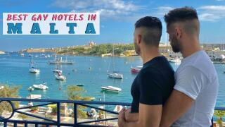Our pick of the best gay hotels in Malta for all travel styles and budgets