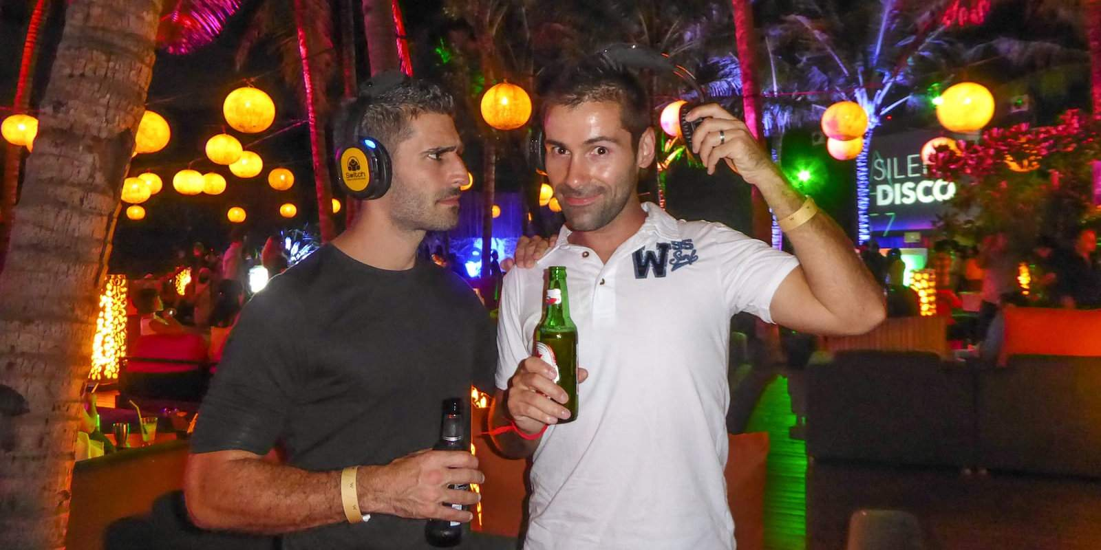 The W resort in Bali holds an annual silent disco which is a lot of fun!
