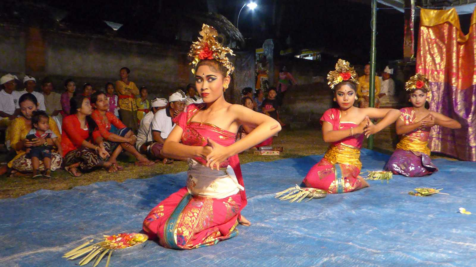 Indonesia has a rich culture and we loved getting to see some traditional dances during our time in Ubud