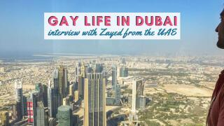 Find out what it's like to grow up and live in Dubai as a gay man in our interview with local guy Zayed