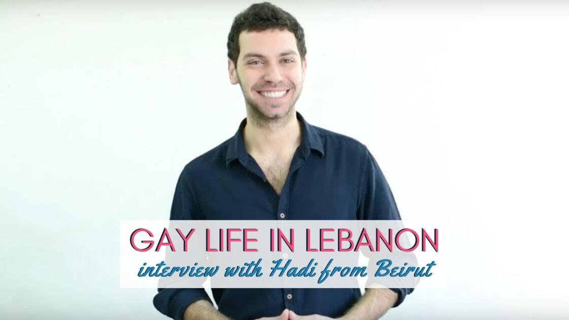 Gay Lebanese boy Hadi tells us about gay life in Lebanon