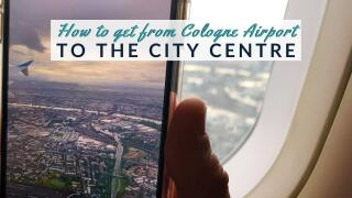 If you're heading to Cologne you'll want to check out our full guide on how to get from the Cologne airport to the city centre