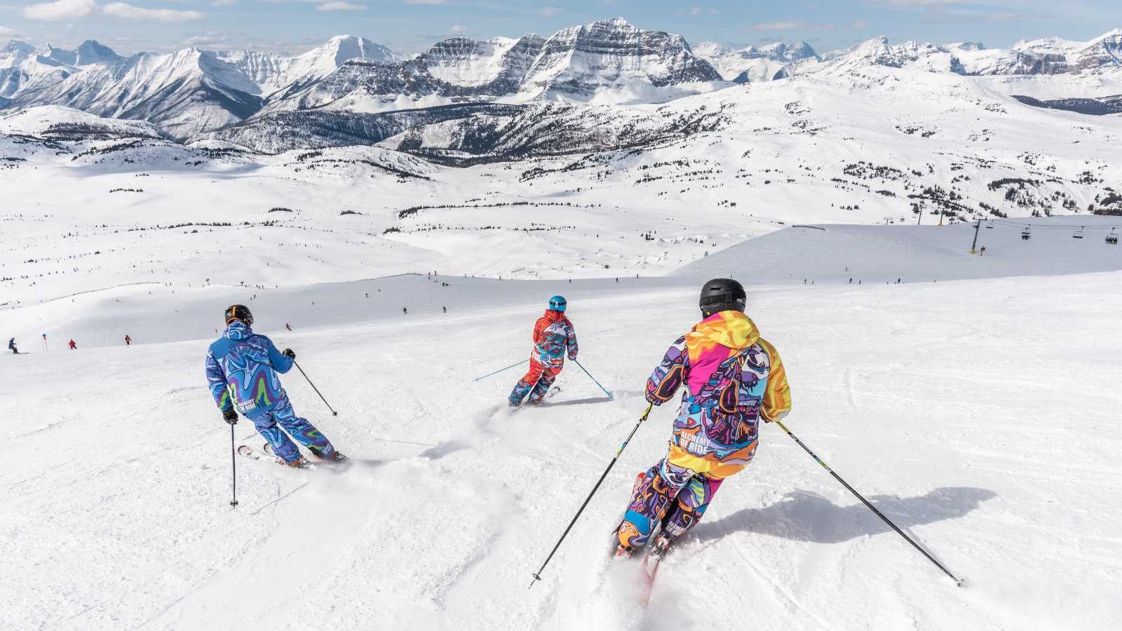 You can ski in pride rainbows, visit a glacier and, most importantly, have fun at Jasper Pride Festival