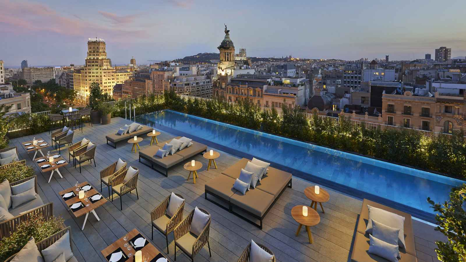 The Mandarin Oriental Barcelona is a luxurious and gay friendly hotel with stunning views from the rooftop terrace