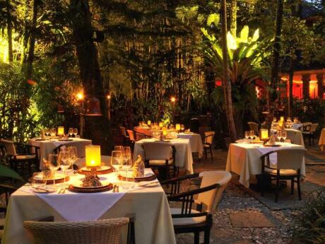 Mozaic is one of the most incredible and romantic restaurants in Ubud, serving delicious Indonesian food