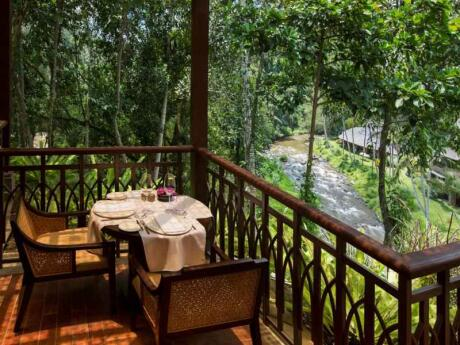 For true romance you can't go past the gorgeous Sawah Terrace in Ubud