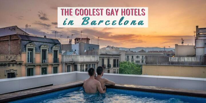 Barcelona has so many incredible options when it comes to accommodation, check out our picks for the coolest hotels for gay travellers here!