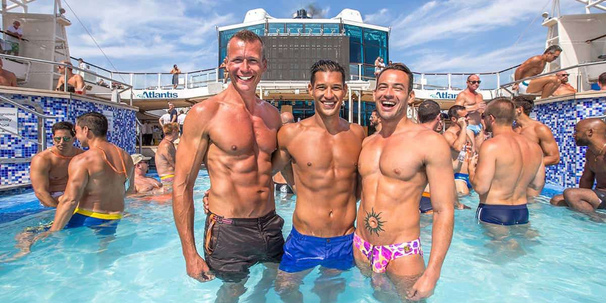 Atlantis also offers an incredible gay cruise in Europe, from Amsterdam to Barcelona with lots of stops in between