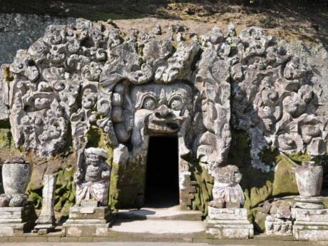The Goa Gajah Elephant Cave is a must-see if you're staying in Ubud