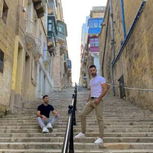 A fun way for gay travellers to explore the city of Valletta in Malta is with a local gay guide