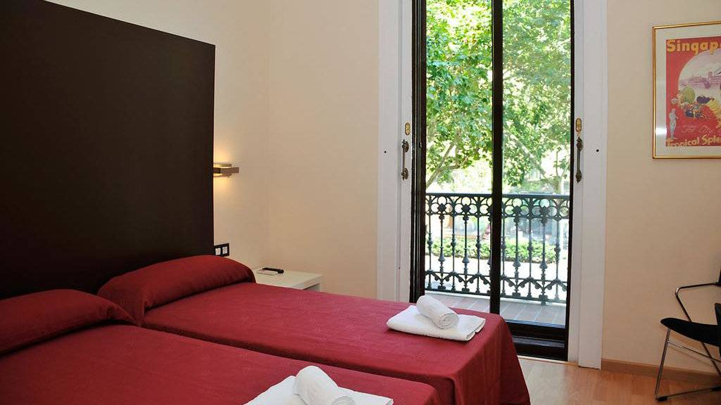For a clean and comfortable gay friendly budget hotel in Barcelona, we love the Hotel Center Gran Via
