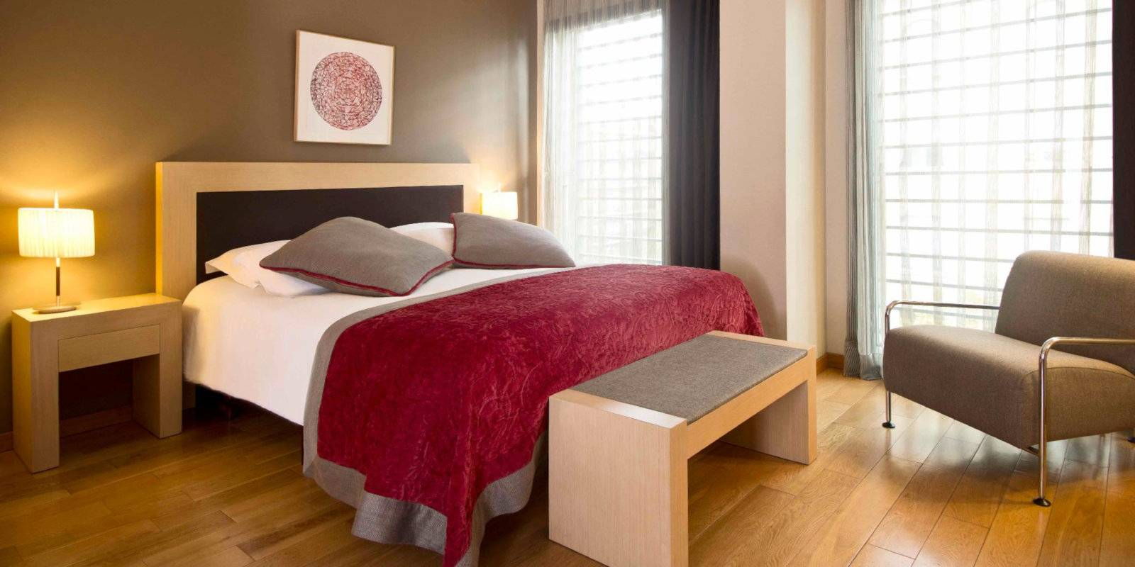 Gay travellers to Barcelona with pets will love the pet-friendly (and gay-friendly) hotel Villa Emilia